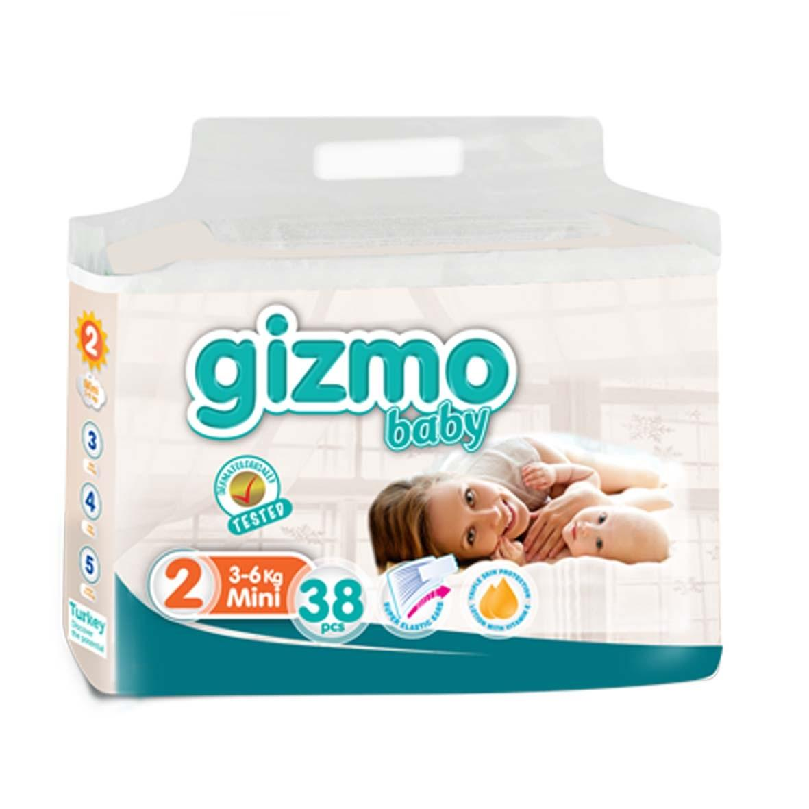 High Quality Disposable Baby Diaper from Turkey GIZMO baby diaper