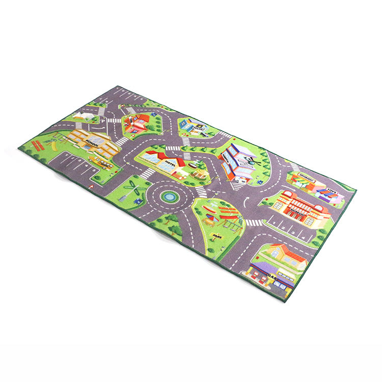 Online shop china Latex Material fabric Children play mat