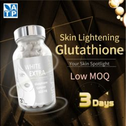 skin whitening capsules brighten lightening beauty L-cysteine Arbutin Lunasin OEM Glutathion For Skin Whitening