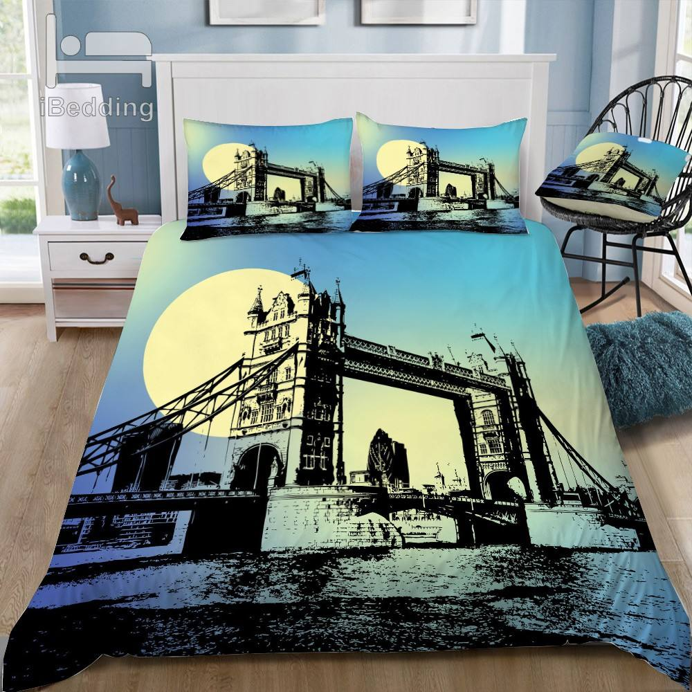 London Bridge Bedding Set