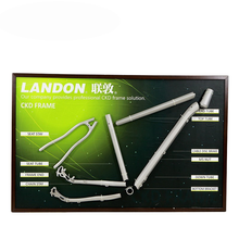 Made in Mainland China and Taiwan Aluminum alloy 6061 special frame welding bicycle frame OEM ODM project development