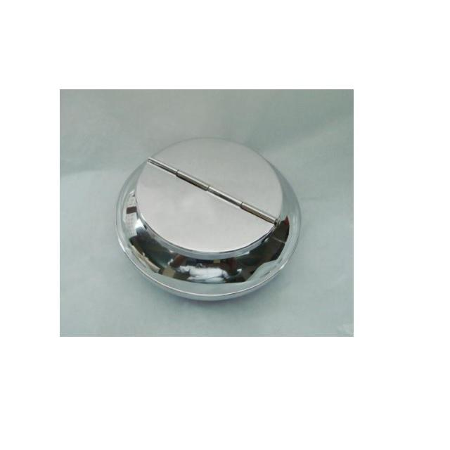 Stainless Steel Round Light Ashtray