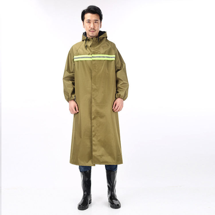 Top Seller Foldable Plastic TPU\PVC Waterproof Custom fashion Khaki Rain coats