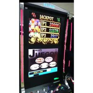 JUEGO V1 game board JACKPOT LINK MAX. 32 MACHINES 1 OR 2 MONITOR touch slot machine