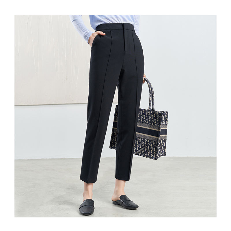 New arrival women long trousers four seasons daily life suit pants for ladies slim fit casual pants