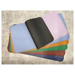 Lumidele Colorful Synthetic Leather Desk Mat and Cup Mat Set with Non-slip Pad Made in Korea with low price