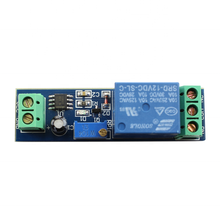Taidacent 12V NE555 Delay Relay Timer Module Delay Start Switch Module NE555 Relay with Switch On Delay Adjustable Timer Relay