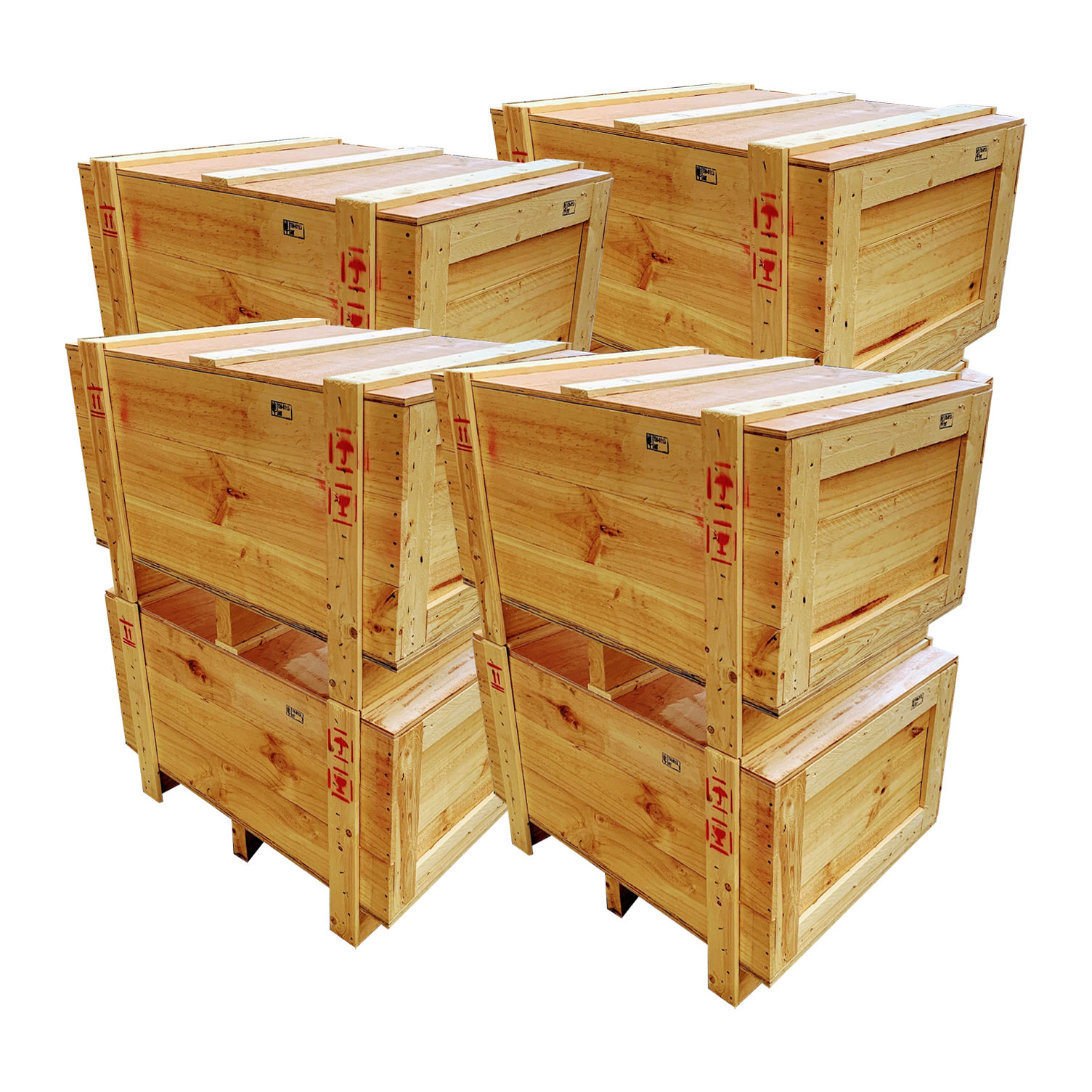 Top Selling Good Price pine wood packaging boxes made from Thailand