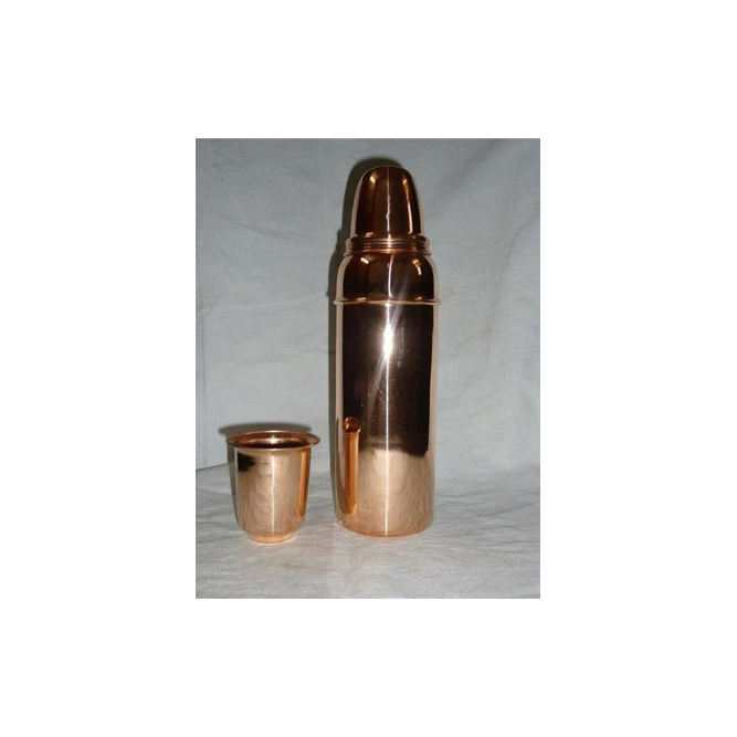 Copper Drinking Water Bottle Thermos Hot selling 100% Purity Copper water Bottle and Storage Bottles