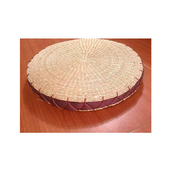100% NATURAL SEA GRASS CUSHION FROM VIETNAM WITH ROUND SQUARE FOAM PILLOW WITH REMOVABLE _ JUHI (+ 84 383184754)