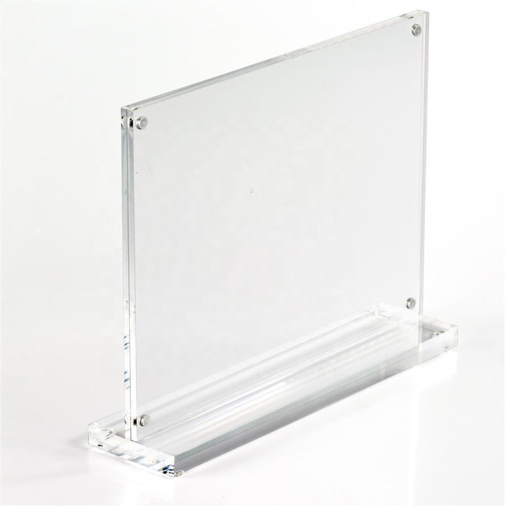 Hollow Acrylic Block with Slot