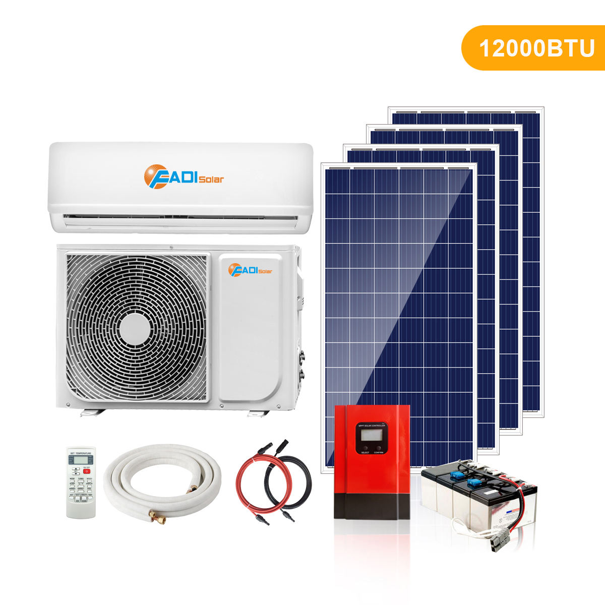 Inverter Air Conditioner DC 48V Solar Air Conditioner