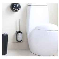 304 stainless steel traceless Nailless toilet brush
