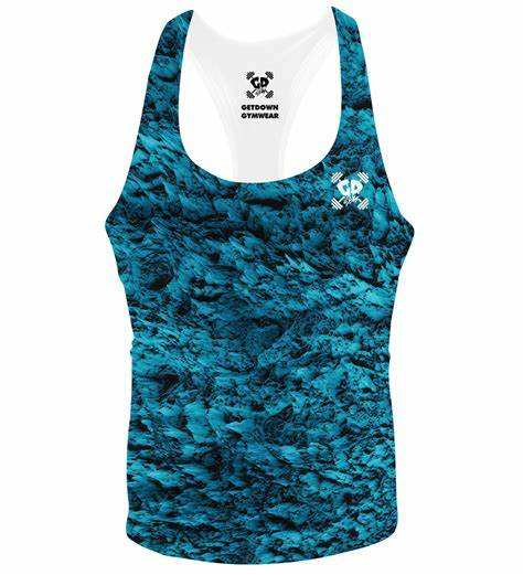 most comfortable gym vests available with custom printing and logo
