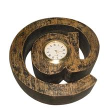 At the rate @ Design Wooden Table Clock