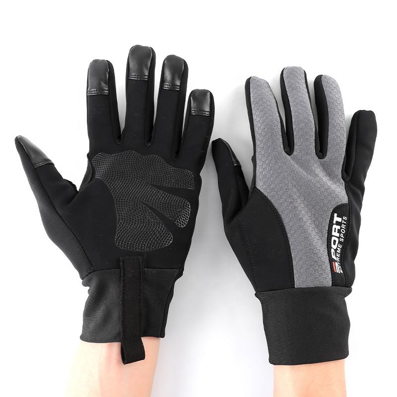 Winter Outdoor Sport Breathable Anti Slip Windproof Waterproof Mountain Climbing Racing Riding Bike Warm Gloves