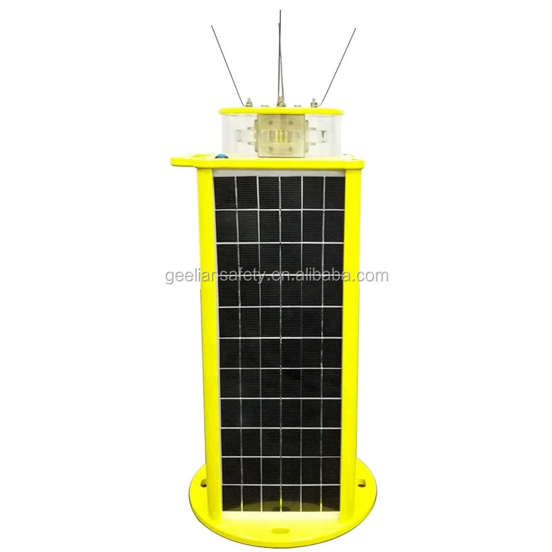 Portable 5-10 NM solar marine lantern / solar buoy light / buoy lanterns for marine navigation led warning light