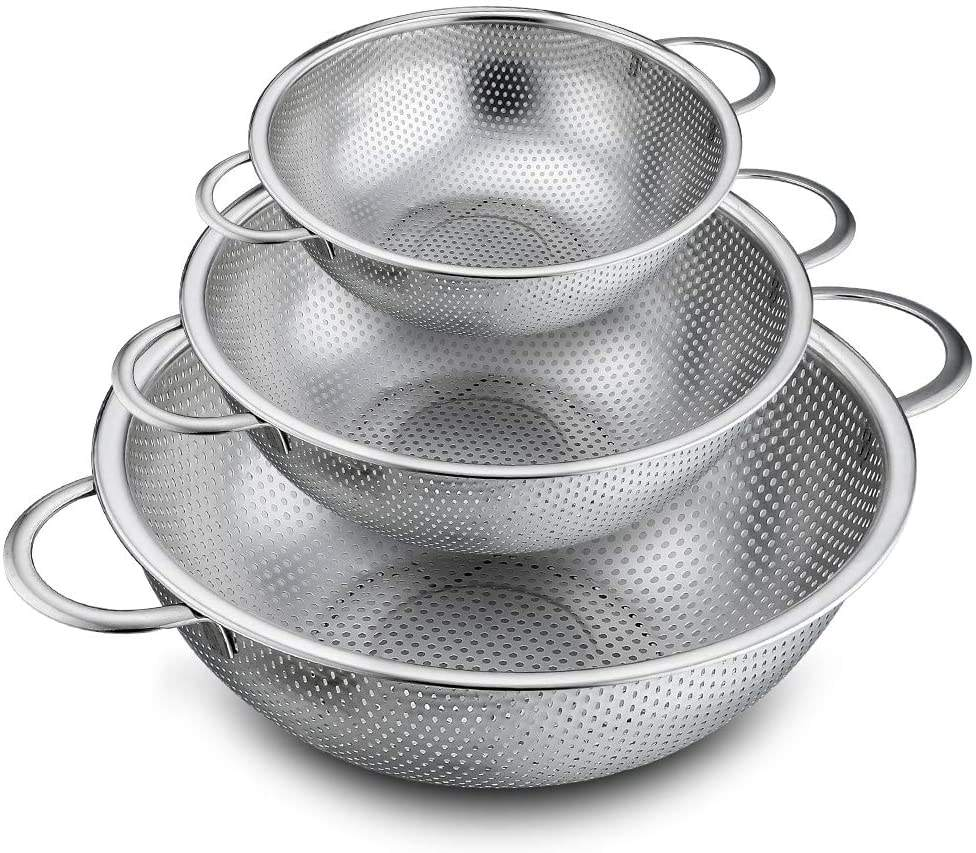Manufacturer direct price Stainless Steel colanders/ Fruit Strainer