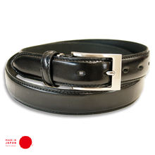 [ TOCHIGI LEATHER ] 30mm Pin Buckle Belt for Dress- made in Japan
