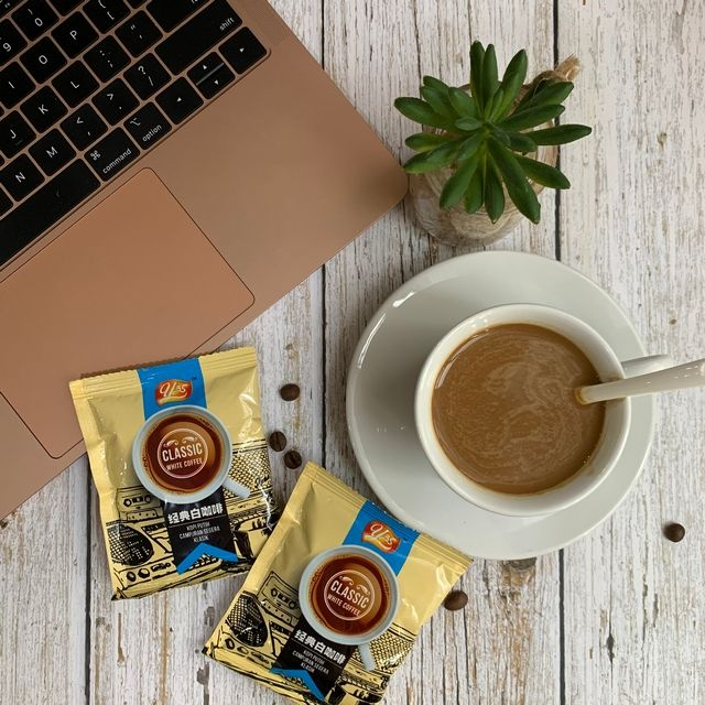 Malaysia Classic White Coffee 12 Sachet per bag YZS Coffee