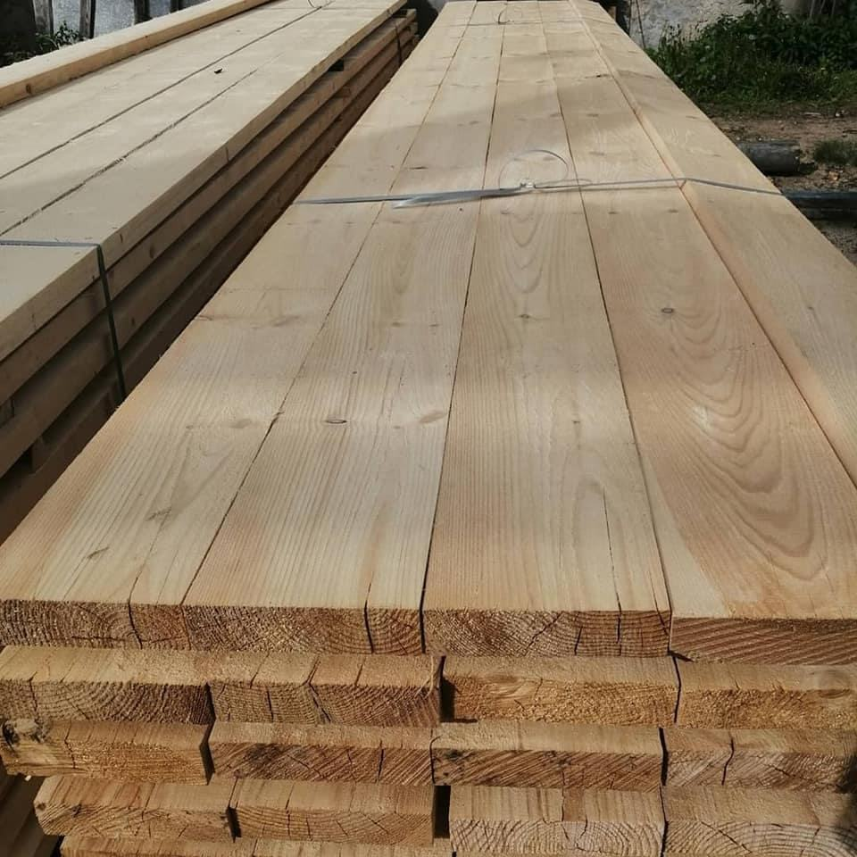 Spruce edged Planks