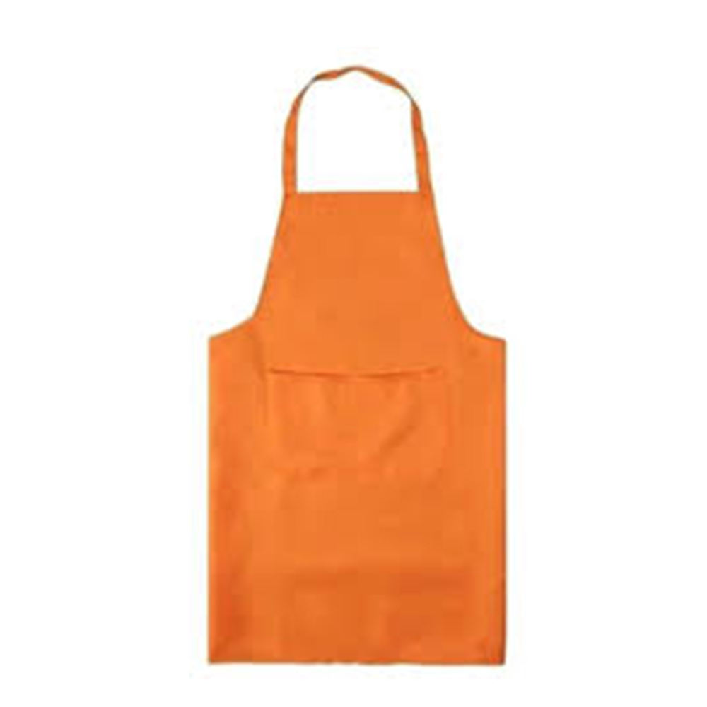 Latest Style Design Women Girls Ladies Cotton Apron Fashion with Two Pockets for Cooking Kitchen