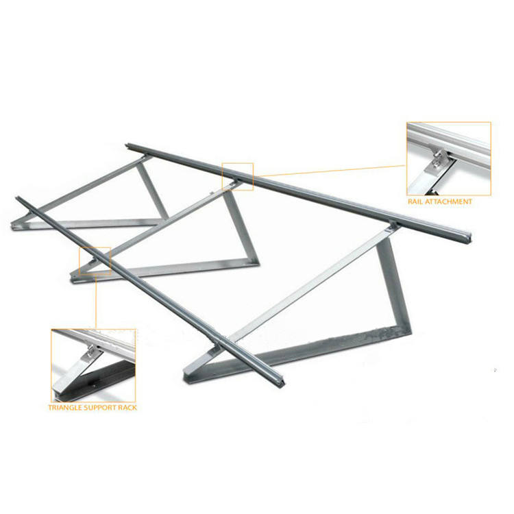 5 Pcs Aluminum Alloy Solar Panel Mounting Bracket Clamp Block for Framed Panel