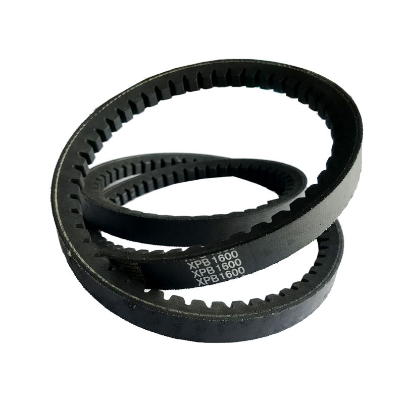 Heat and oil resistant flexibility cogged narrow pulley sheave v belt with teeth