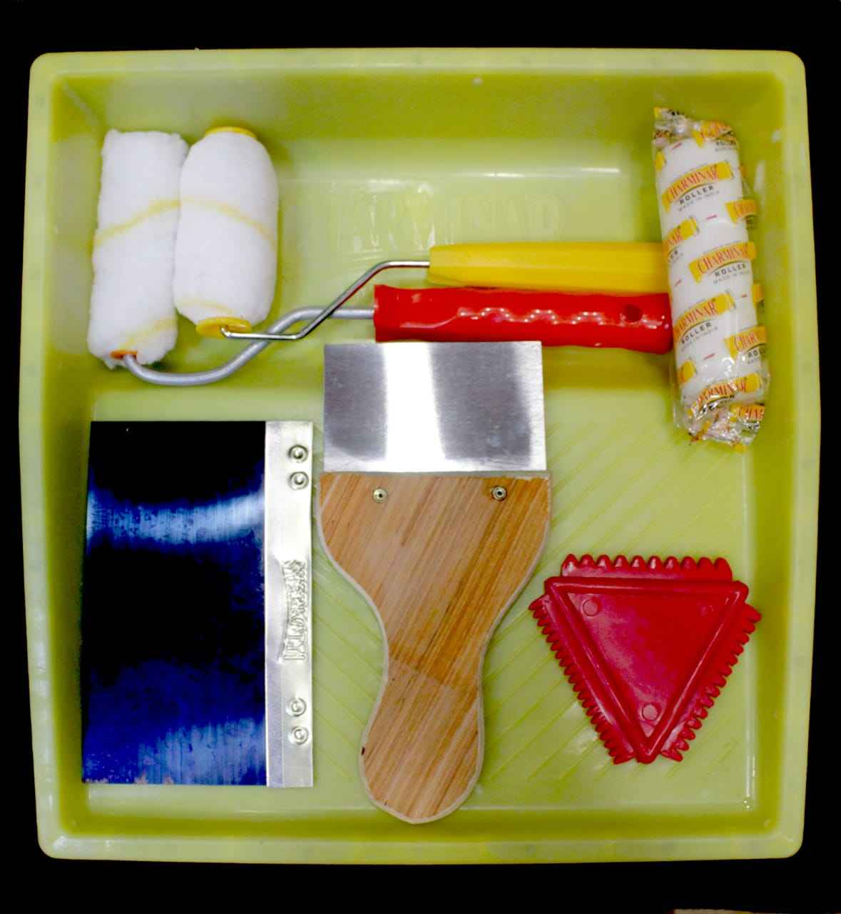 Painting Tool Decorative Paint Roller Tray Kit Manufacturer In Brush Roller