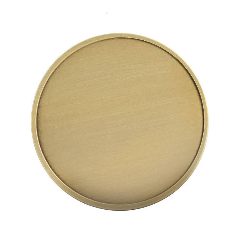Wholesale custom metal brass copper blank challenge coin