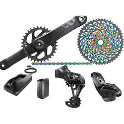 AUTHENTIC SRAMs XX1 Eagle AXS Electronic Groupset: 175mm Boosts 34t DUB Crank 12 Speed