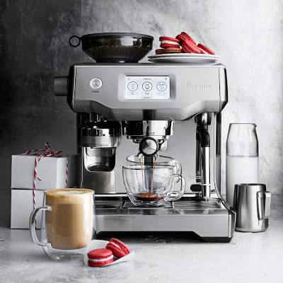 BUY 2 GET 2 FREE Brevilles BES990BSS Fully Automatic Espresso Machine Oracle Touch Coffee Machine