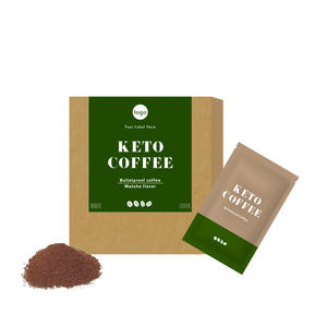 Coffee Meal Replacement instant coffee Bulletproof 3 in 1 coffee Matcha flavor