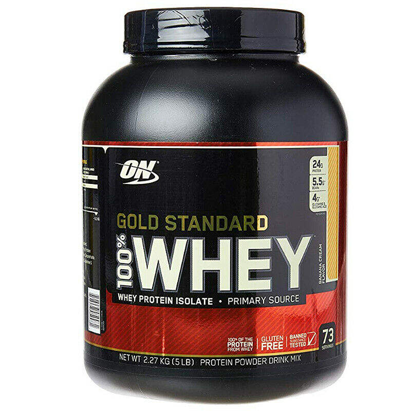 Optimum Nutrition Gold Standard Whey Protein All Flavors