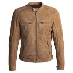 Men Hot Fashion Real Leather Jacket New Style Men Winter Leather Jacket with Zipper
