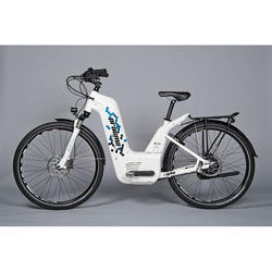 Alpha Pragma Industries' 1st commercially available electrically assisted bike with a fuel cell
