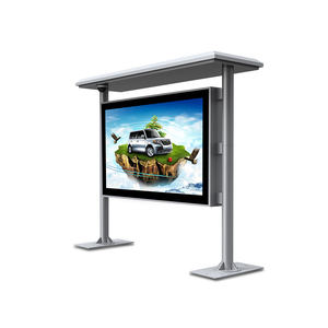 65 Inch Floor Standing Outdoor Advertising Digital Display Video Players TV Intertainment Screens