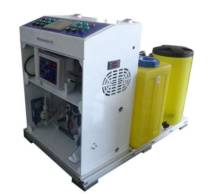 on- site chlorination solution generation mechanism / on-site chlorine disinfection system equipment