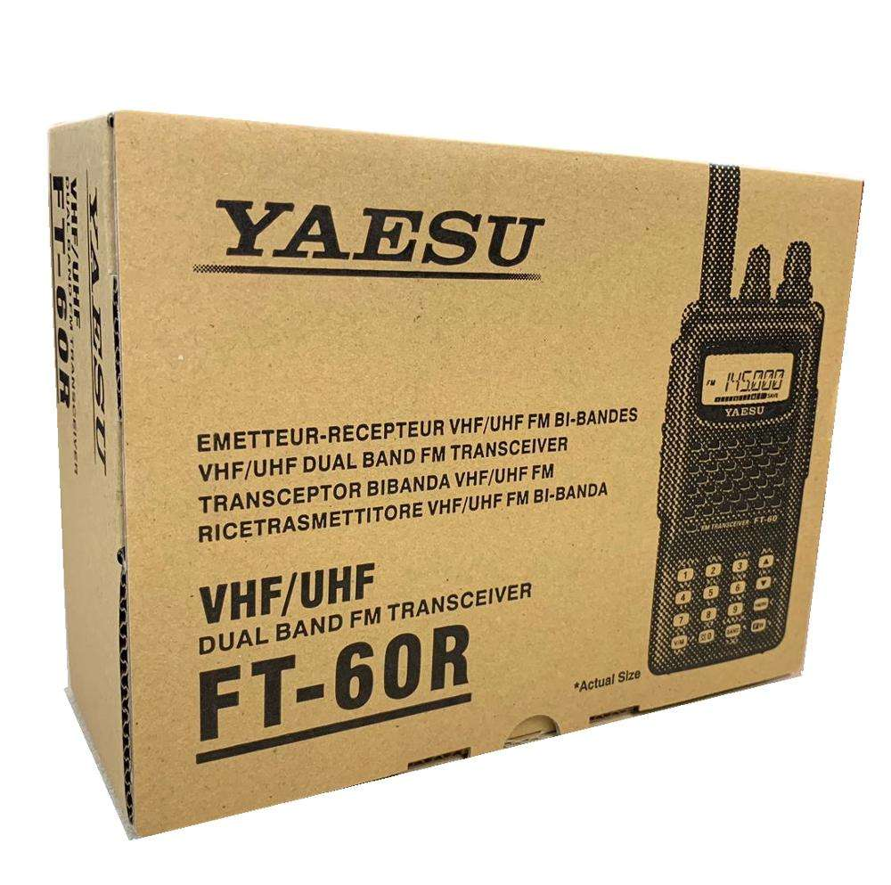 Yaesu FT-60R Dual Band Handheld 5W VHF UHF Amateur Radio Transceiver