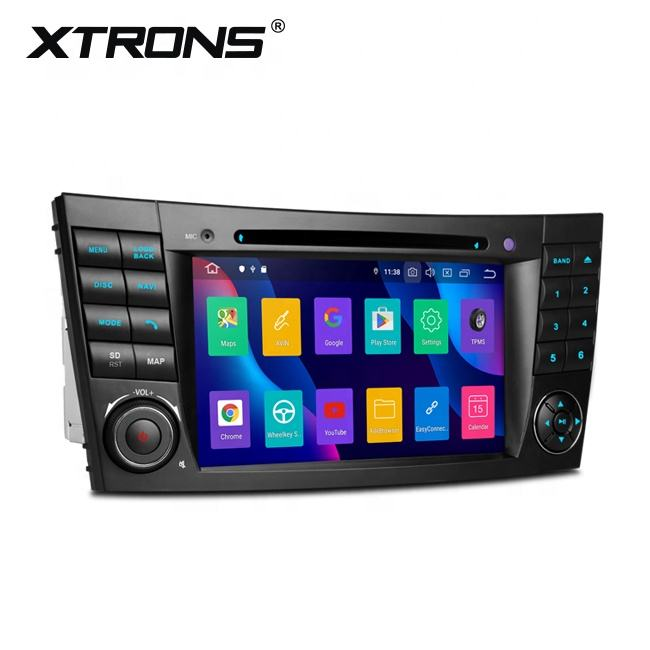 XTRONS Android 10.0 car dvd gps video mp4 player for Mercedes E-Class W211/CLS Class W219 support apple car play Android auto