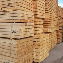 Pine Spruce fresh sawn timber with AST