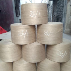 Highly Exportable and Best Quality Jute Yarn Light Yellow Color Wholesale Price From Bangladesh