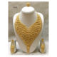 Senegal Necklace Earring Jewelry Set African Jewellery Set Gold Plated
