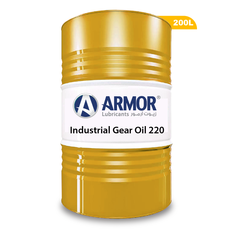 Heavy-Duty Industrial Gear Oil - ARMOR Lubricants - MADE IN UAE