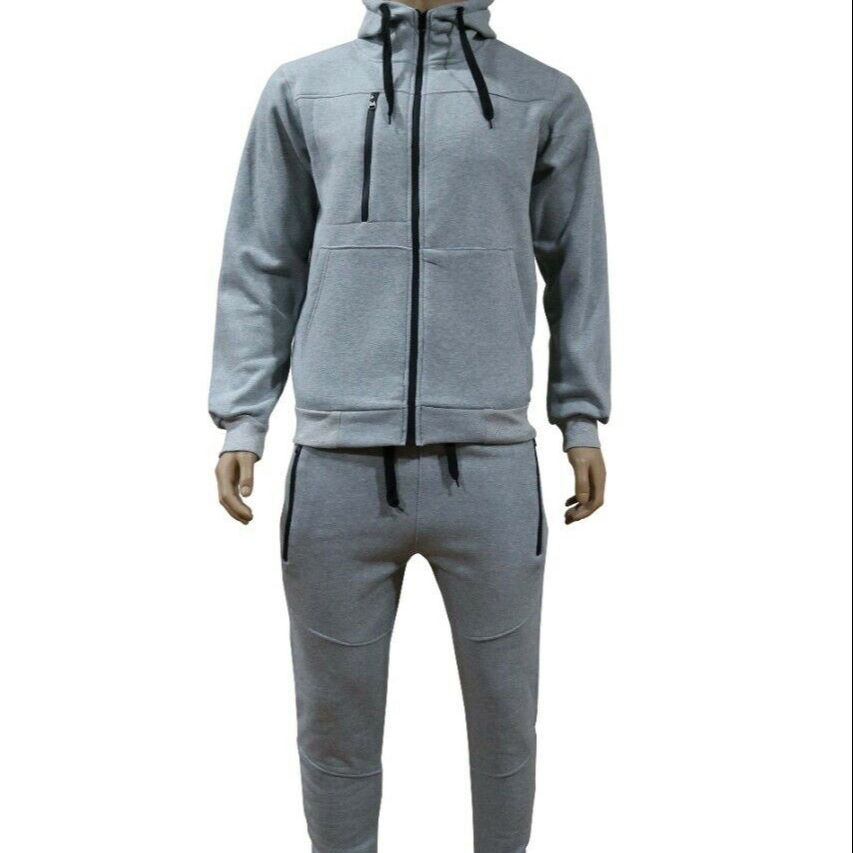 High Quality Custom Cotton Polyester Track Suit Fleece Tech Men's Training & Jogging Track Suits Wholesale winter collection