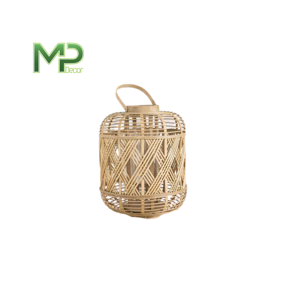 2020 best selling different shape bamboo lantern