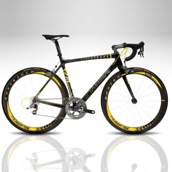 ORIGINAL New Trek Madone SL Limited Edition Livestrong Lance Armstrong 23k Gold Signature 54 c