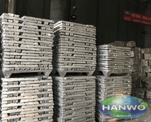 Hot sale Aluminum ingot 91% to 98% purity in Hanwo company from Vietnam