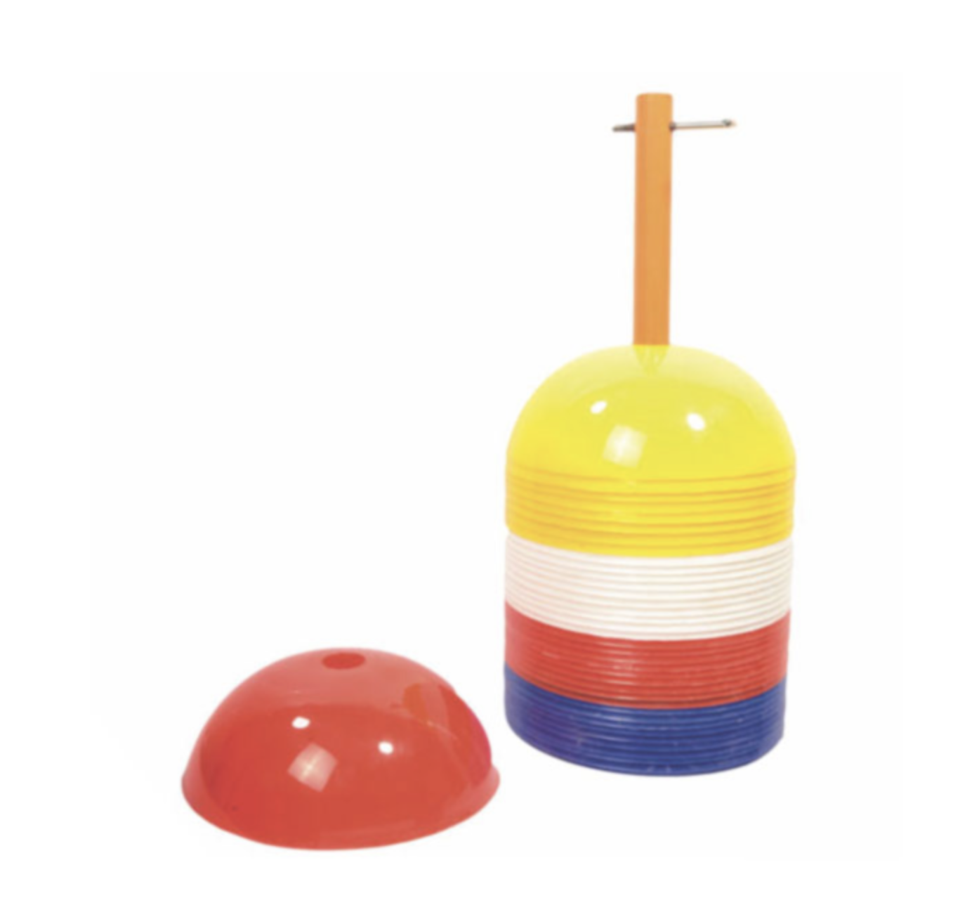 Pepup Wholesale Marker Dome Cones Football Heavy Duty Plastic Marker Cones For Kids Activities and Sport Training