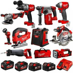 FREE SHIPPING for Milwaukees 2695-15 M18 18-Volt Cordless Power Lithium-Ion 15-Tool Combo Kit
